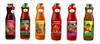 Natural spring bottled water, natural juices