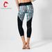 Custom active wear running tight sexy high waist mesh yoga leggings