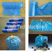 Continuous-rolled Drawstring Trash Garbage Bag Making Machine