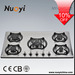 Best Selling 2015 New desigh cooktop Gas hob gas stove price