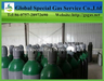 Oxygen gas cylinder high pressure steel gas bottle gas tank