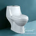 Wash down One piece toilet, sanitary ware