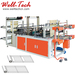 High-speed Vest & Flat Opening T-shirt Rolling Bag Making Machine