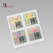 Anti counterfeit Custom 3D Hologram Sticker with Serial Number