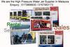 Waterjet Hydro Jetting 30000 psi 1500 bar Supplier Distributor Malay