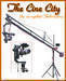 PROAIM 14ft Jib Pan Tilt Head, Tripod Stand