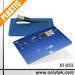 HOT SELLER! Credit Card Shape USB Flash Drive, Custom Full Color Print