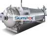 Food industrial water spray retort sterilizer automatic autoclave