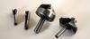 Brazed cutters for wood, plastic, aluminium