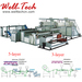 PE Air Bubble Film Cushioning Wrap Roll Making Machine