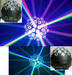 LED 9WRGB crystal magic ball light