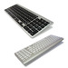 2 Zone Bluetooth Mac Compatible Keyboard