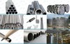 Pipe fittings & pipes of titanium, nickel, zirconium, nb and ta, coppe