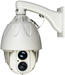 300m laser high speed dome camera