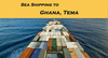 Sea shipping to Africa, Sea freight, Ocean freight forwarder