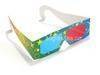 Anaglypb cyan red 3d glasses