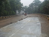 Wet curing sheet for concrete, replace geotextile