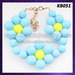 Fashion silicone costume jewelry necklaces and bracelets