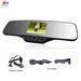 Car accessory with 3.5'TFT wireless back-up camera ALD90