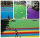 Sports flooring, pp interlocking flooring