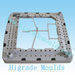 Washing machine mould, washing machine mould part