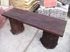 Garden benches - special concrete