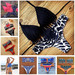 New Fashion Women Bikini Set Brazilian Retro Swimsuit Swimwear Sport