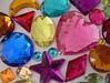 Flat or Point Back Acrylic Rhinestones, Gemstones, and Cabochons