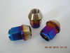 Titanium lug nut M12*1.25/1.5*45mm