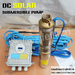 Submersible solar water pump dc solar submersible pump price for farm