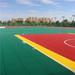 PP modular outdoor sports flooring for basketball volleyball tennis