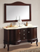 Hot Selling High Quality Red Oak Bathroom Cabinets