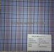 Grey checks yarn-dyed shirt fabric