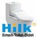 HK768 complete intelligent smart toilet  electronic Bidet