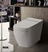 HK768 complete intelligent smart toilet  electronic Bidet