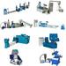 PP PE LDPE HDPE film recycle plastic granules making machine