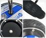 6.5 inch 250w 36V 48V DC 5N.m 600RPM brushless wheel hub servo motorl