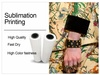Fast dry 50gsm/120gsm sublimation paper for fabric digital printing