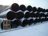 High-quality used (secondary) steel pipes of different dia and walls