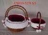 Willow Christmas basket