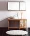 Solid wood bathroom furniture and vanity V050