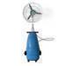 20' high pressure spray mist fan