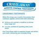 WHITE GLO TOOTHPASTE CRAVE AWAY 150g/120ml