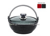 Stone coated aluminum stone stew wok pot