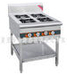 Four-head gas burner/wok/kitchen/cooking