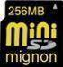 Memory Cards - mini-SD, SD