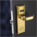Hotel door lock china hotel lock factory (skype: luffy5200)