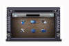 In dash universal double din car dvd player with gps
