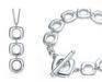 Tiffany silver jewelry set