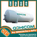 QDHICOM Horizontal Cryogenic Liquid Oxygen Nitrogen CO2 storage Tank p